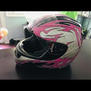 Medium women's riding helmet